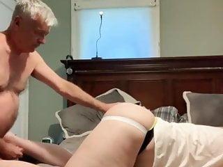 Grandpa and bear sucking and fucking