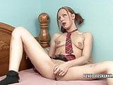 Raunchy MILF Penelope Sky makes her sweet pussy cum hard