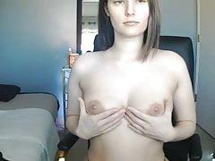 Elisha Mae Early Morning Nipple Tease