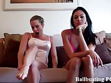 Can you handle two girls busting your pathetic balls