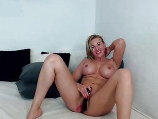 Big Tits woman teases