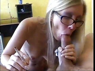 Tabitha james smoking blowjob...