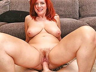 MILFTRIP Big Tit Redhead MILF Creme su Big Dick
