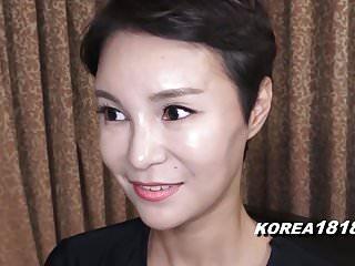 日本的韓國女孩是角質