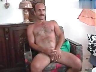 Bald, Mustache, Horny Daddy