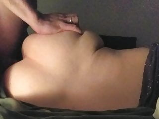 hidden cam – fucking my wife and cum on her asshole