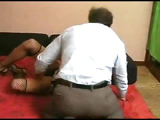 Shemale and dad muscled t girl scene 01...