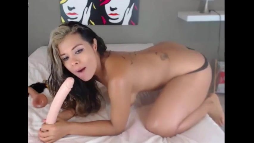 Latina Webcam Dildo Deepthroat