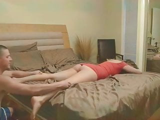 Naughty Whore In Heels Fucked In Tight Pussy