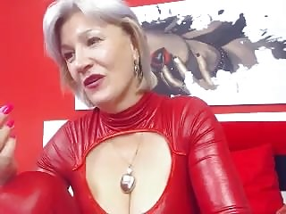 Granny big tits masturbation webcam...