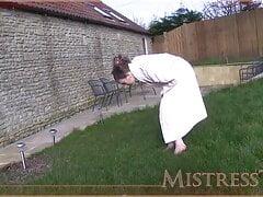 Garden Foot Worship