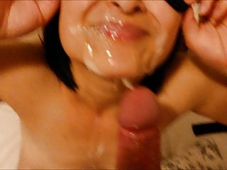 Facial with blindfold