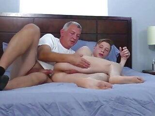 Mature man & his lover