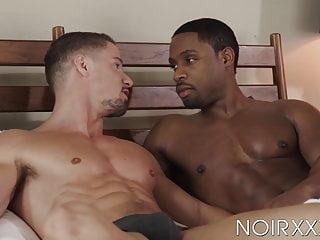 Naughty Skyy Knox blows dick before interracial bareback sex