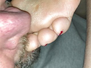 Suck BBW Lover Toes