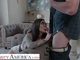 Naughty America Karma Rx gets bullied into sucking and fucki