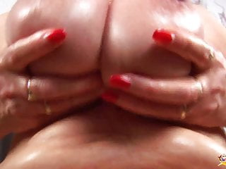 Busty horny milf's first sex tape video