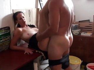 German mature wife from DeutscheHure.Info with neighbor