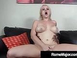 Black Cock Rome Major Wrecks Cracker Pussy Nadia White!