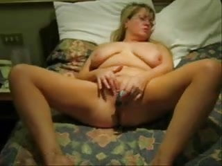 See my busty on bed...
