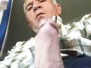 Older trucker masturbate