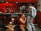 GERMAN MATURE BBW KIRA RED IN A ORGY