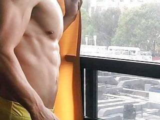 Very sexy gym ful heat...