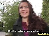 Busty pickup euro babe cumsprayed on titts