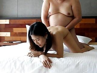 Fat man fucking chinese hooker 2...