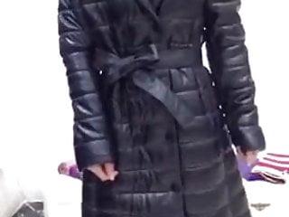 Shiny coat Chinese woman 1