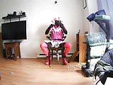 Sissy Slut Chair Self Bondage