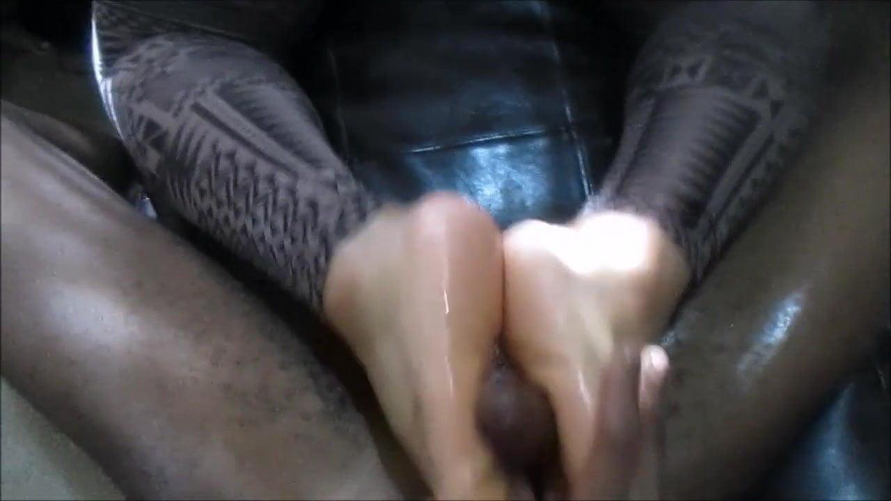 Ebony Cougar Sucking Dick