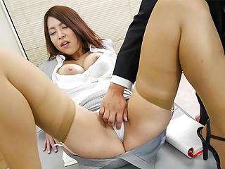 JAV schoolgirl, Erika Nishino had intercourse, uncensored