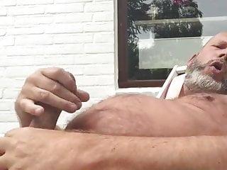 Summer dad's nipple