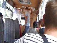 My bully on the bus of Chernigov, Lyubechskaya street,