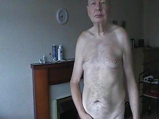 Jim Redgewell stripping in September 2019