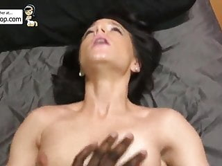 My slut girlfriend fucking dick...