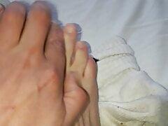 smelly socks feets Boxershorts