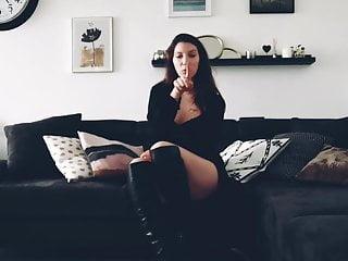 Little cock sucking slut