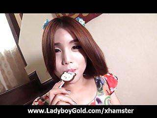 18 Yo China Ladyboy Sweet Blowjob