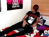 Smoking hot emo twink Rhys Casey moans in pleasure and joy