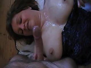 Mature danish chubby lady gangbanged