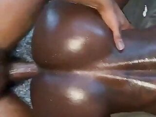 Giving this slim back boypussy bottom some good dick