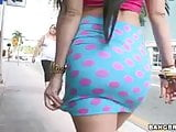 Latina Valerie Kay Gets Wild In Public