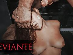 DEVIANTE - Brunette With Big Tits Confesses Then Has Rough Fuck