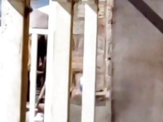 Hotwife exhibitionist tanning spied on by voyeur neighbor
