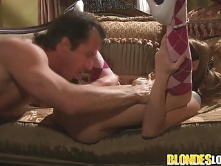 Blondes Love Dick - Young Lindsey Meadows Fucks an Older Man