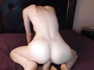 Big tit redhead dildo orgasm...