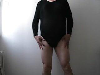 Spandex body men...