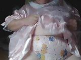 Mature Panty Sissy in Diapers and Plastic Panties